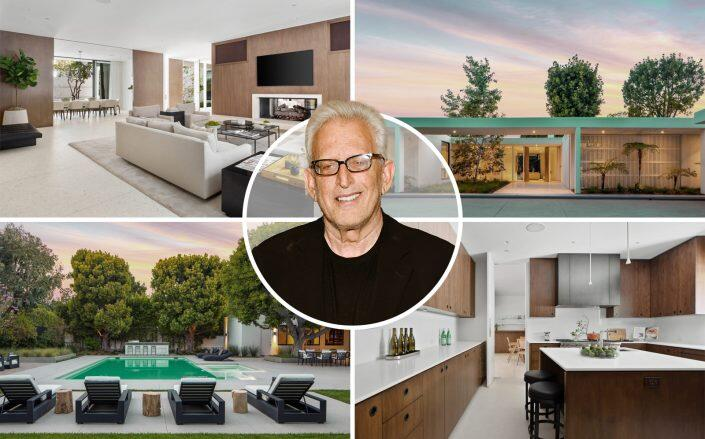Producer Joe Roth and the five bedroom house (Getty, Hilton & Hyland)