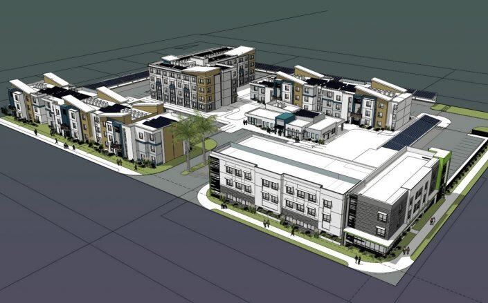 Rendering of the project (City of Santa Fe Springs)