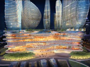 A rendering of Resorts World Miami