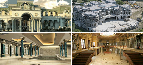 Largest american home palace of versailles david siegel for Biggest house in miami