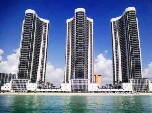 Trump Towers in Sunny Isles