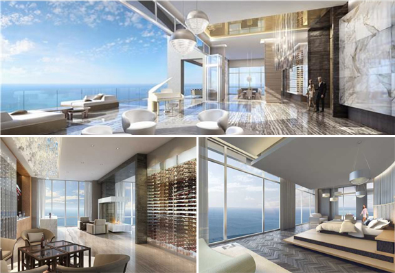 Mansions At Acqualina Penthouse Expensive Miami Listings
