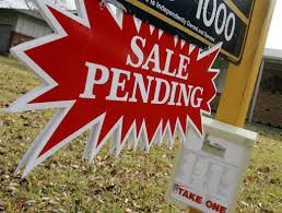 Pending home sales are slow, per NAR