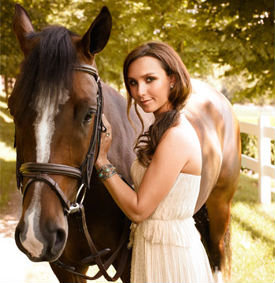 Georgina Bloomberg, courtesy of ASPCA