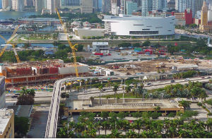 Pérez Art Museum Miami under construction