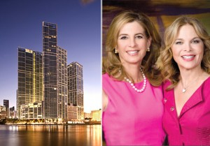 From left: Icon Brickell and Jill Hertzberg and Jill Eber