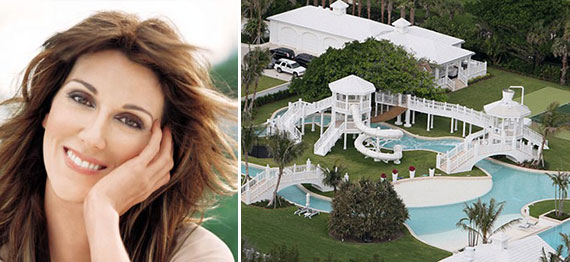 Celine Dion and the Jupiter Island mansion
