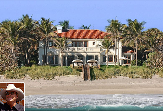Jupiter island celebrity homes map great