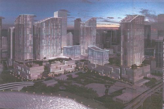 Rendering of Brickell CityCentre