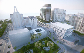 Rendering of Faena District, Miami Beach