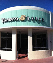 A Panera at 1428 Alton Rd., Miami Beach