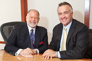 ISG World principals Philip Spigelman (left) and Craig Studnicky