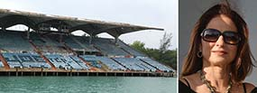 Miami Marine Stadium and Gloria Estefan