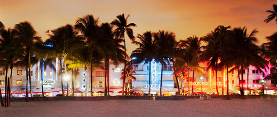 Collins Avenue on South Beach
