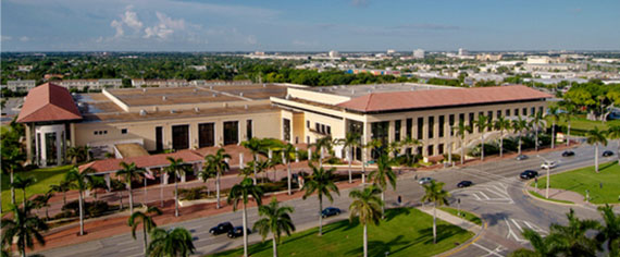 Palm Beach County Convention Center (Credit: Sun-Sentinel)