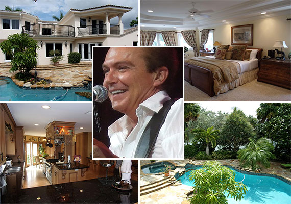 David Cassidy and his home at 1600 South Ocean Drive in Fort Lauderdale (Credit: Nick Madigan)