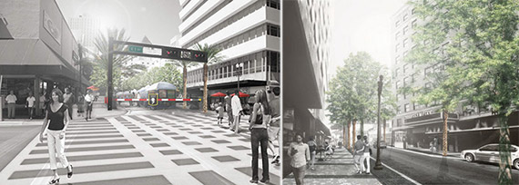 Flagler Street renderings