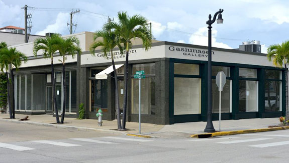 The former Gasiunasen Gallery space at Hibiscus and Peruvian avenues
