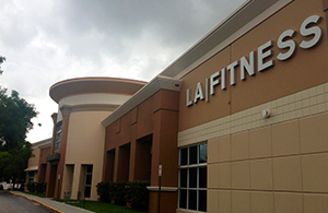 LA Fitness location in Doral
