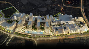 Rendering of Metropica, one of the project's to be displayed during the showcase