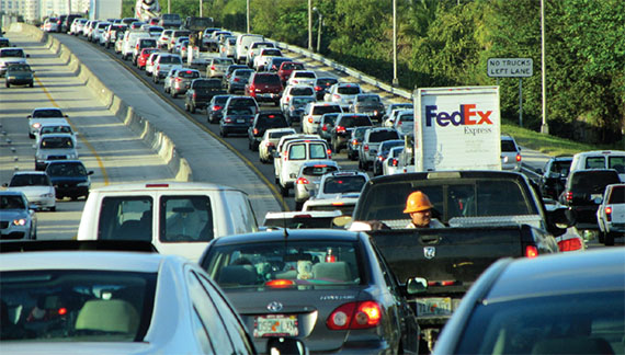 Researchers rank Miami seventh among U.S. cities with the worst gridlock