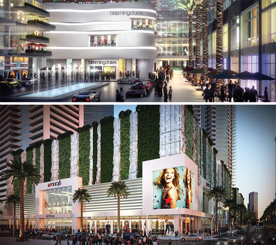 Miami Worldcenter secured anchor tenants Macy's and Bloomingdale's in December