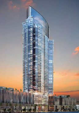 A rendering of the planned tower