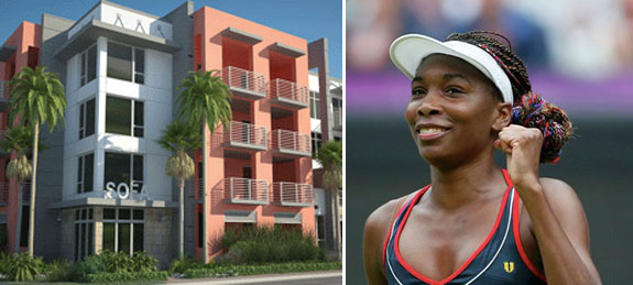 SofA in Delray Beach and Venus WIlliams