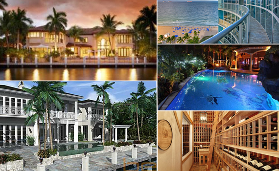 Broward County priciest listings November