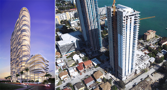 Aria on the Bay rendering, Bay House in downtown Miami