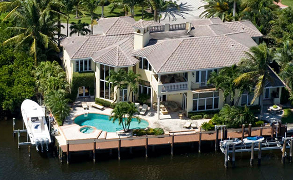 Boca Raton home listed by Mizner Grande Realty