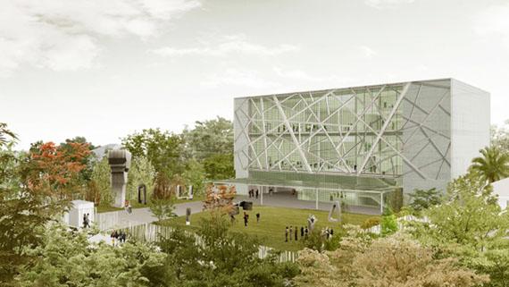 Rendering of ICA Miami