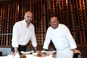 L-R_ Antonio Gallo and Chef Pietro Vardeu (2)