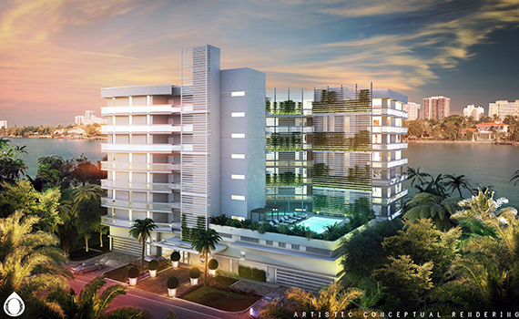 Rendering of O Residences