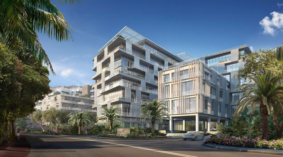 Rendering of Ritz-Carlton Residences, Miami Beach