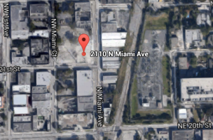 Site for planned hotel in Wynwood