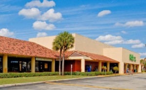 A rendering of the $1.2 million makeover of the Nassau Square neighborhood retail center at 7577 Lake Worth Road will get underway in January 2015.