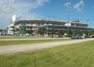 Sun Life Stadium in Miami Gardens
