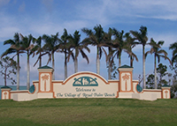 Entrance to Royal Palm Beach