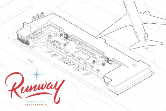 Rendering of Runway Resort
