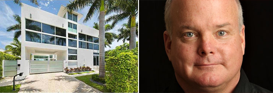 227 East Dilido Drive in Miami Beach and race car driver Duncan Dayton