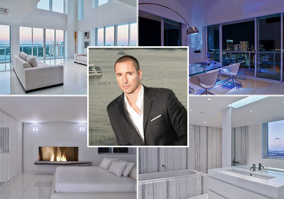 Penthouse 4 at the Grand Venetian and Horacio LeDon, the listing agent