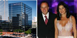 SunTrust Bank building, Adolfo Geo Filho and his wife, Lilian De Almeida Geo