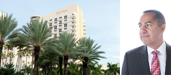 The James Royal Palm and Don Peebles