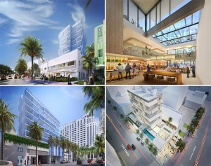 Renderings of the Hyatt Centric South Beach Miami