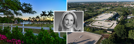 Kendall equestrian estate and Toni Schrager of Avatar Real Estate