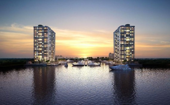 Rendering of the Marina Palms