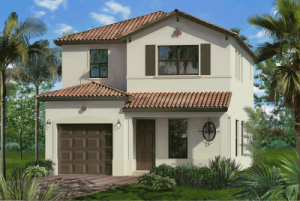Rendering of a Bonterra home