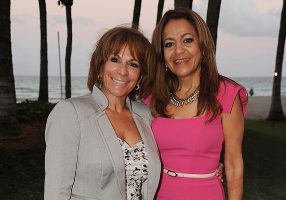 Vicky Rua and Nancy Jimenez