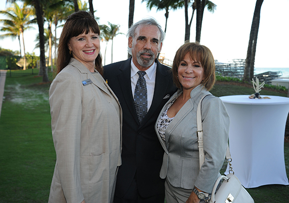 Wanda Bee, Jim Russo and Vicky Rua